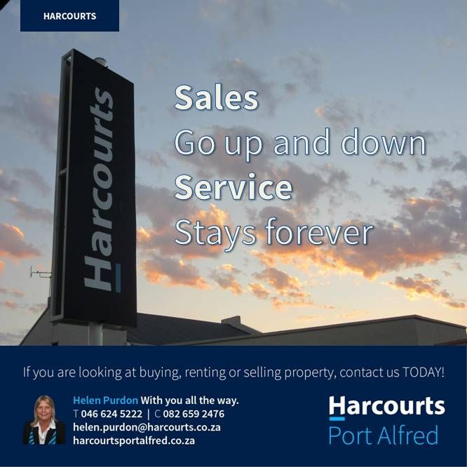 Harcourts Port Alfred for all your property needs http://portalfred.harcourts.co.za #Harcourts #PortAlfred #BuyingAHome #PortAlfredandSurrounds #ThingsToDoInPortAlfred #EasternCape #WhereServiceCounts #SoleMandate #EstateAgent
