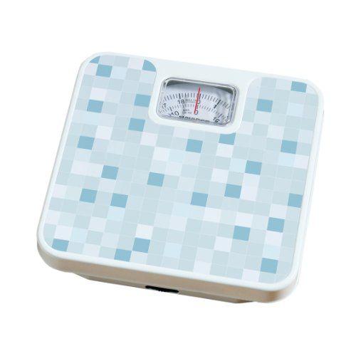 Premier Housewares Pèse-personne «mosaïque»: Pèse-personne à mosaïque bleue Max. 120 kg Cadran mécanique rotatif Cet article Premier…