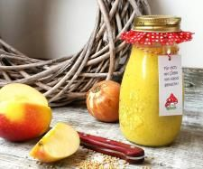 Rezept Apfel-Zwiebel-Curry Dressing von MissForest - Rezept der Kategorie Saucen/Dips/Brotaufstriche