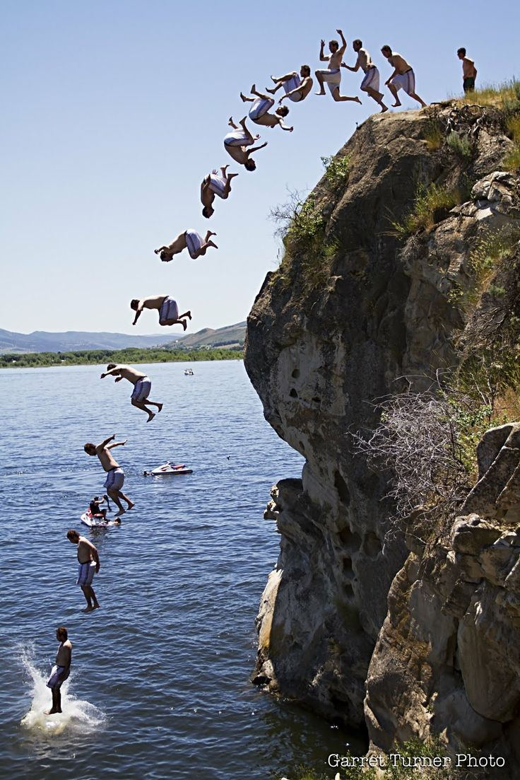 1000 Images About Cliff Jumping On Pinterest Lakes