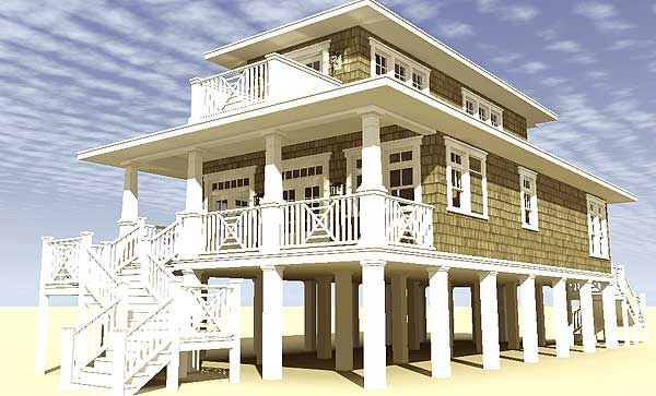 17 best images about narrow lot beach house on pinterest for Coastal living house plans for narrow lots