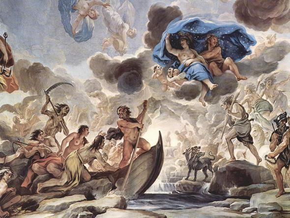 Wie nennt man diese Gemälde in Kirchen? (Engel, Malerei, Kirche)