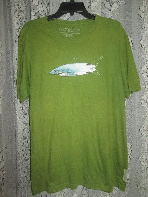 Vintage Patagonië haai vis T-shirt origineel door HEAVYSOULVINTAGE