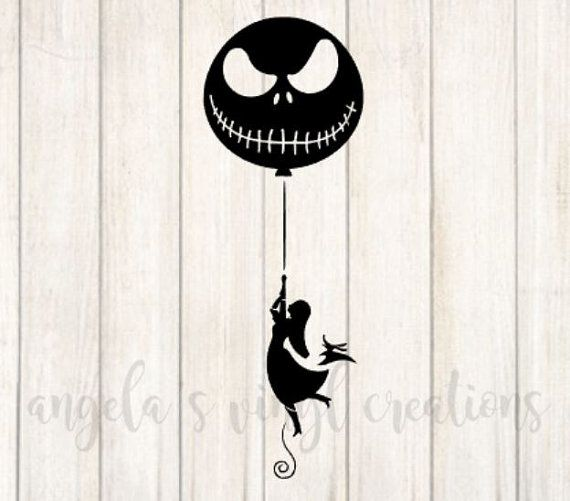 101 Best Nightmare Before Christmas Vinyl Decals Images On