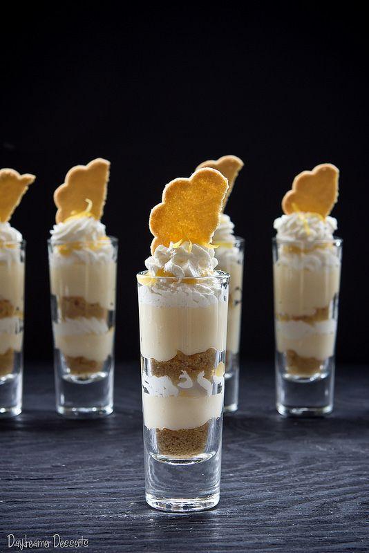 Mini Lemon Cheesecake Trifles