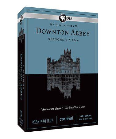 Loving this Downton Abbey DVD Seasons 1-4 on #zulily! #zulilyfinds