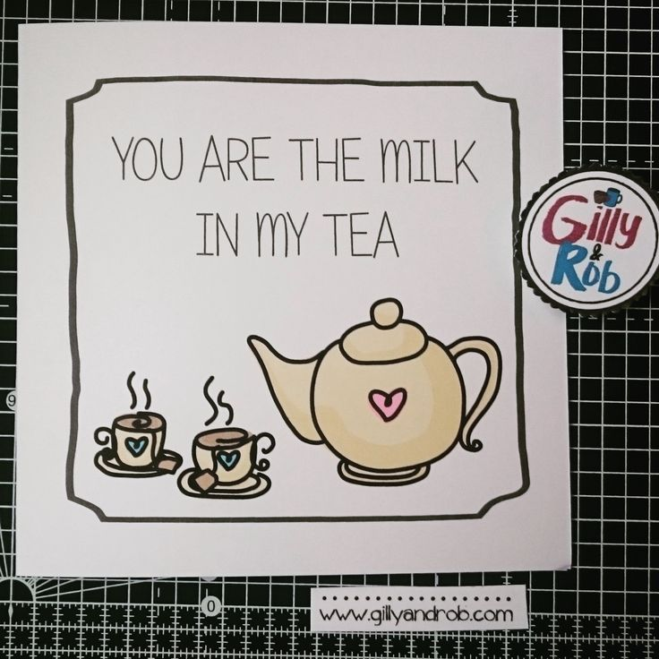 Milk in my tea