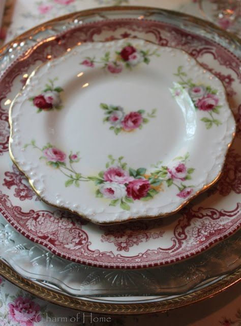 Inspiration for Creating in Vintage Style & 44 best How To Mix and Match Vintage China u0026 Pottery images on Pinterest