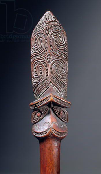 Taiaha Staff (wood)