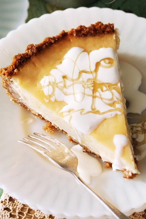 Lemon & honey Anzac tart  http://www.taste.com.au/recipes/28727/lemon+honey+anzac+tart