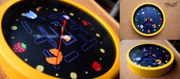 Relógios de Parede AHOOP - Modelo Pacman
