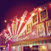 "London Wonderground at Southbank Centre. Open from 10 May - 29 September, their ""wonderful Speigeltent formed the centre of a marvellous playground of wonders and curiosities"". Headline show - Cantina."