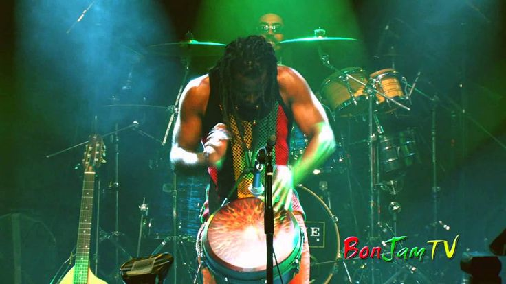 Third World In Concert (NYC) - Tony 'Ruption' Williams Drumming