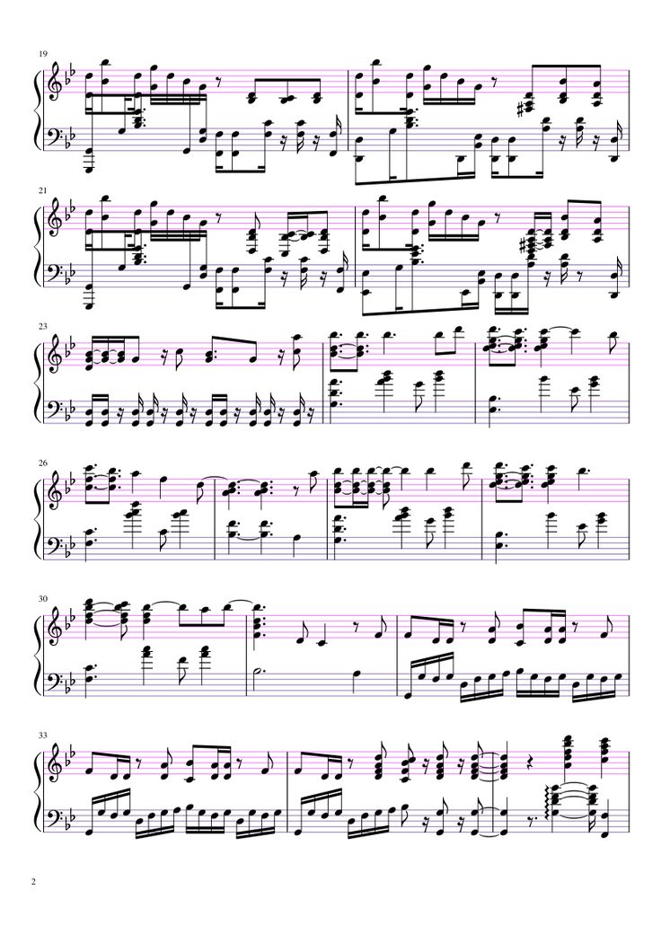 Sheet music made by Aurelia Sama for Piano (Görüntüler ile)