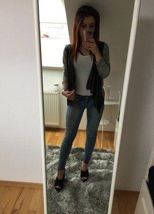 Kup mój przedmiot na #vintedpl http://www.vinted.pl/damska-odziez/dzinsy-skinny/19116400-niebieskie-spodnie-jeansy-rurki-tally-weijl-skinny