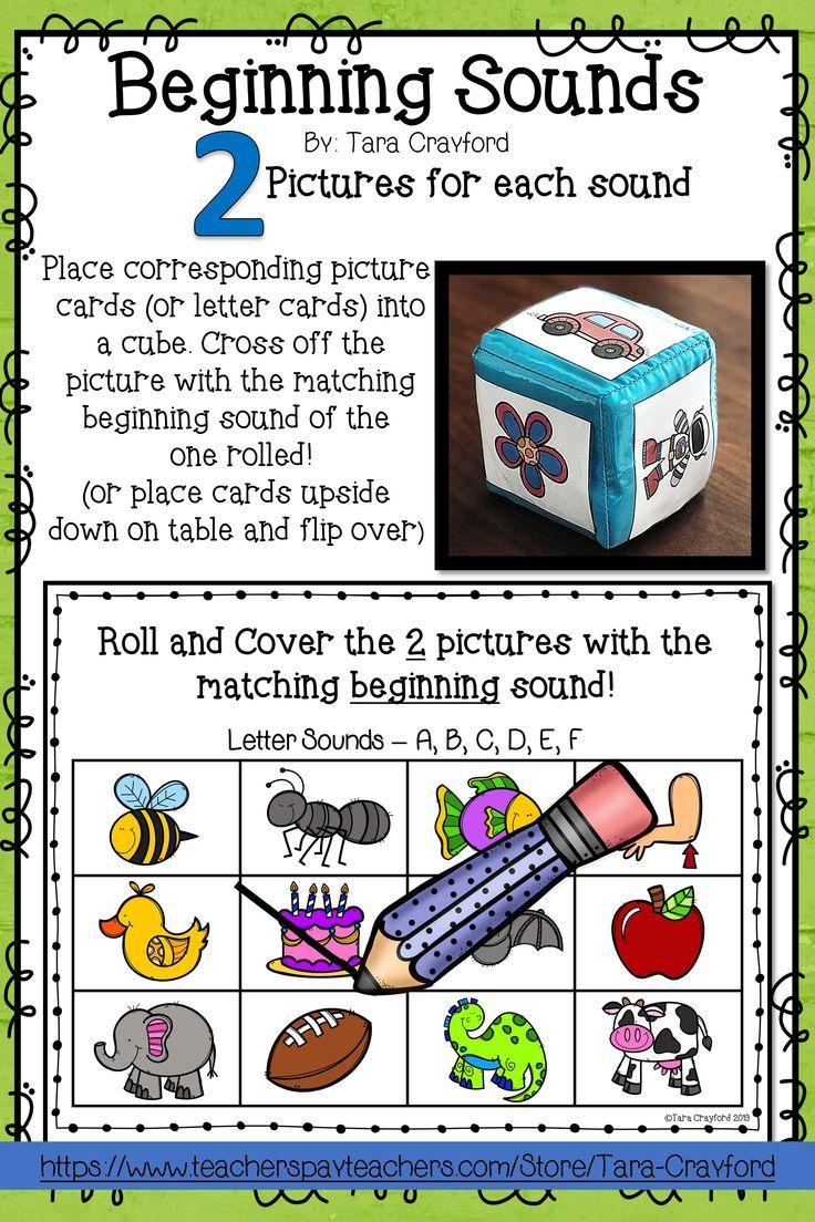 My Groups Love Dice Cube Activities This Activity Is A Great Hands On Engaging Way Letter Activities Preschool Beginning Sounds Phonemic Awareness Activities [ 1104 x 736 Pixel ]