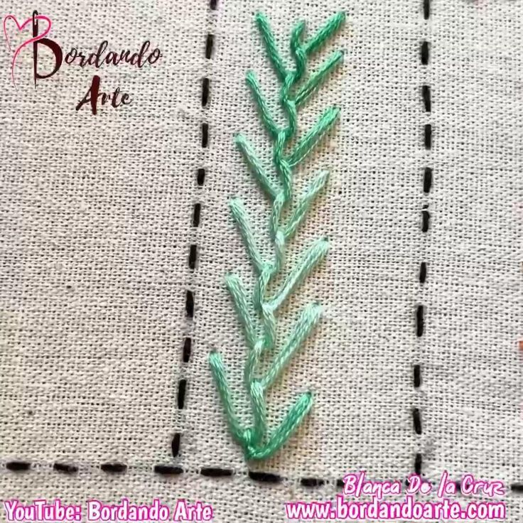 Mira el tutorial y aprende a bordar paso a paso. Hand Embroidery Patterns Flowers, Basic Embroidery Stitches, Hand Embroidery Videos, Hand Embroidery Tutorial, Creative Embroidery, Simple Embroidery, Learn Embroidery, Sewing Stitches, Hand Embroidery Stitches
