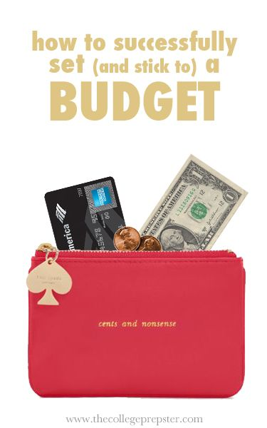 How to set a budget