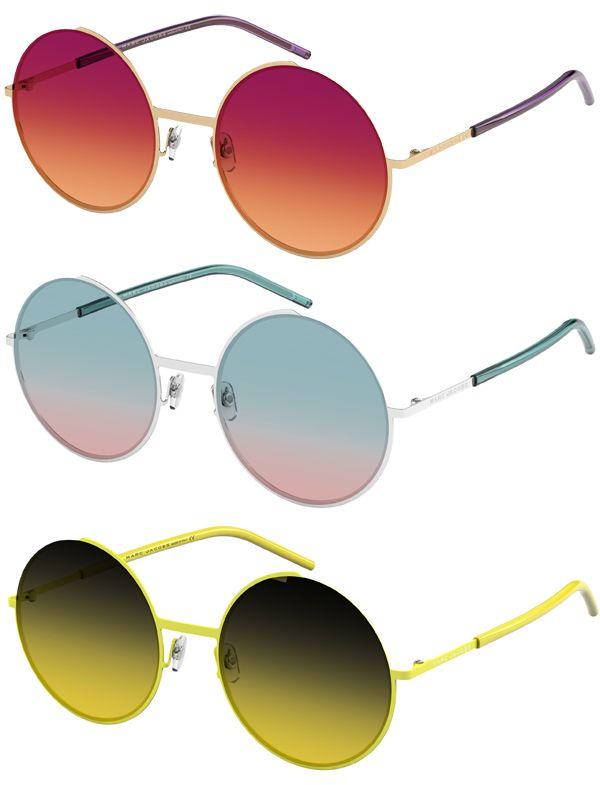 Brilhos da Moda: Óculos de Sol Redondos
