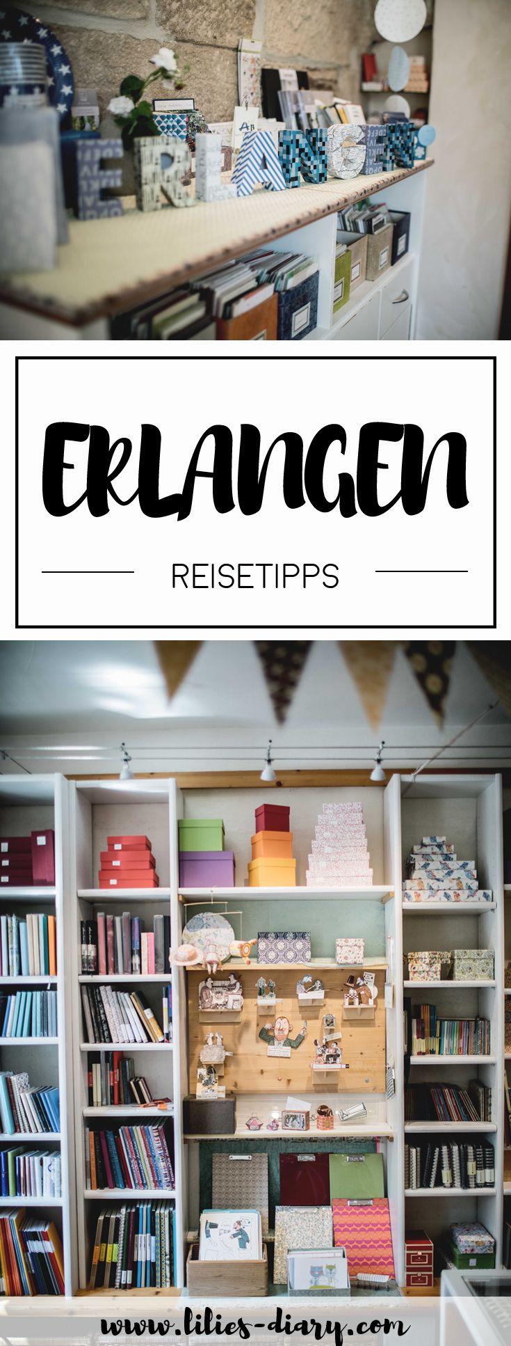 Reisetipps für Erlangen. Schöne Sehenswürdigkeiten, tolle Cafés und einen botanischen Garten - Erlangen ist das perfekte Ziel für einen Wochenendetrip. Alle Tipps für eine Städtereise nach Erlangen findet ihr auf www.lilies-diary.com.