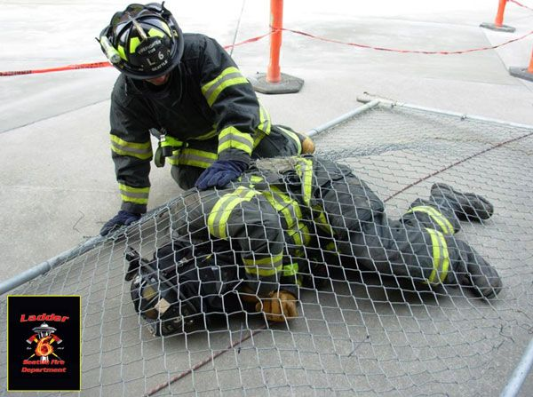 How do you access your radio if you're pinned down by debris? Raul Angulo argues that this training drill may make some firefighters change their mind about how they wear their radio.