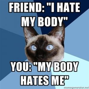"""""""Chronic Illness and BodyImage"""" << A fantastic piece by a new blogger read it and be sure to comment!!"""