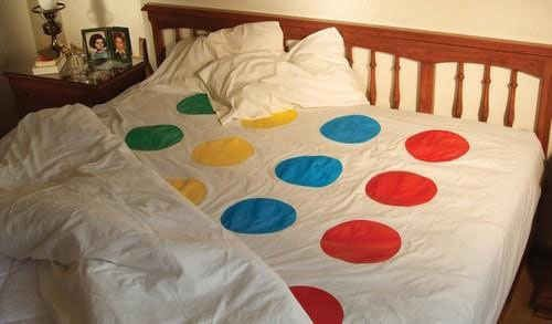 Twister sheets. | 20 Ingenious Solutions You Wish You'd Thought Of First