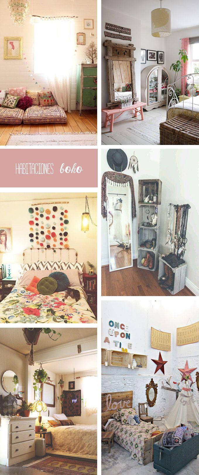 Las 25 mejores ideas sobre interior bohemio en pinterest y for Habitaciones para ninas estilo vintage