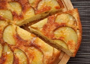 Яблочный пирог без яиц или шарлотка без яиц с яблоками