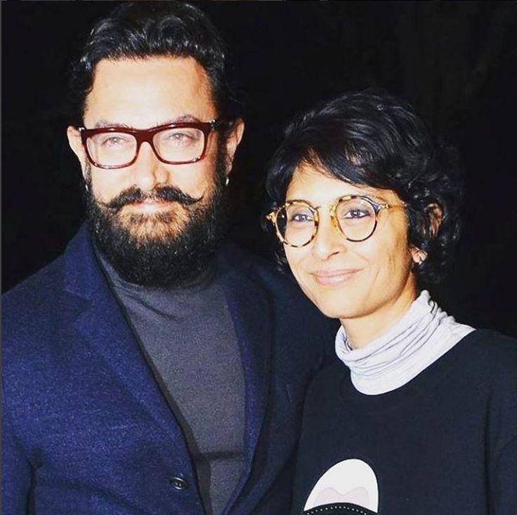 Aamir Khan with Wife Kiran  Rao.