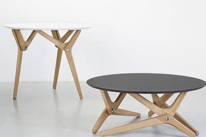 This Kickstarter Shape Shifting Table Is A Thing Of Beauty Digital Trends Coffee Table To Dining Table Adjustable Coffee Table Coffee Table