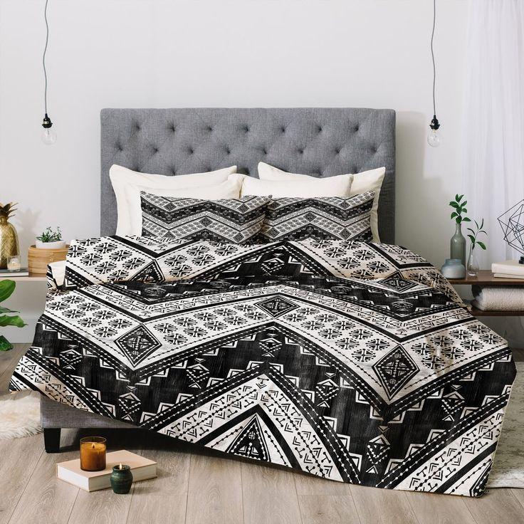 Schatzi Brown Jirra Chevron Comforter | Deny Designs