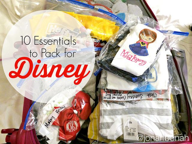 10 Essentials to Pack for Disney World | Disney World Tips and Tricks |