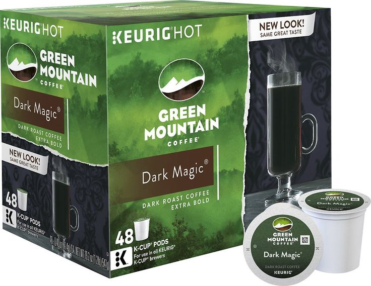 Green mountain coffee dark magic kcup pods 48pack