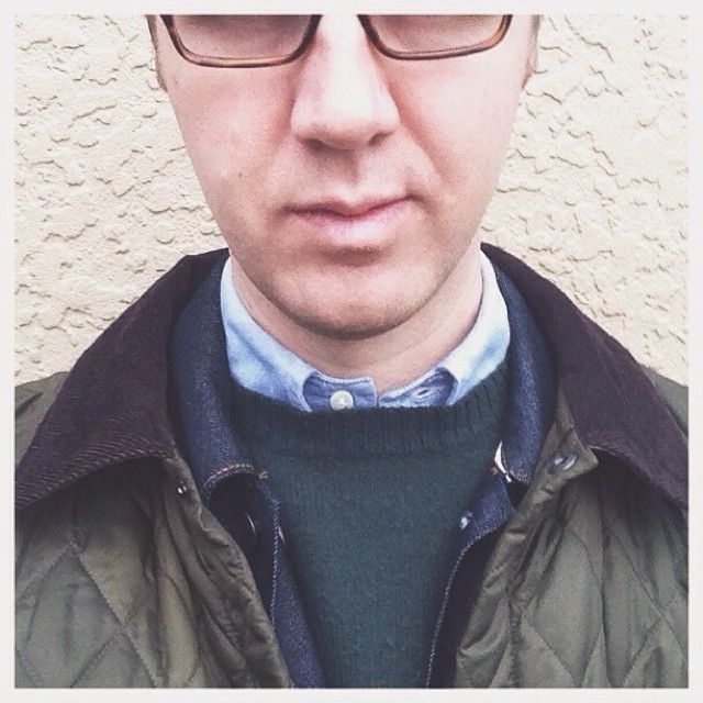 Thursday layers: #barbour Liddesdale #levis #selvedge Trucker, #brooksbrother #usmade OCBD. #wiwt #menswear #dapperman #vscocam