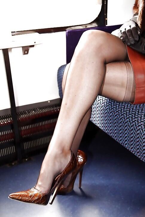This magnificent planes and high heels join. And