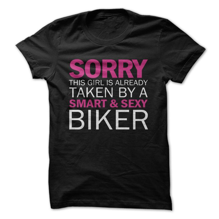 This Girl Is Taken By A Sexy Biker
