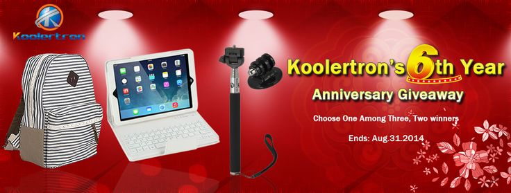 Koolertron's 6th Anniversary Giveaway