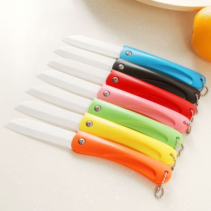 Folding ceramic utility knife Letter opener Stationery Cutter for fruit vegetable sushi ceramica knives tools household 5146