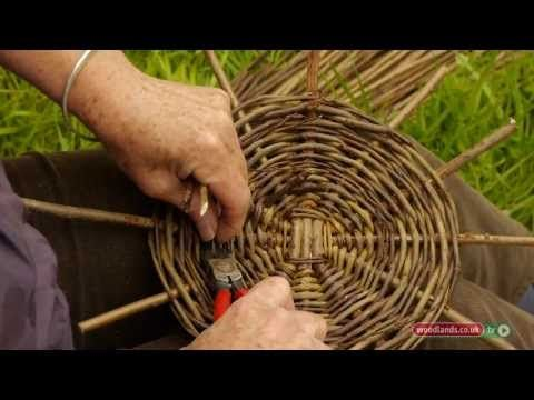 Making Willow Baskets - YouTube