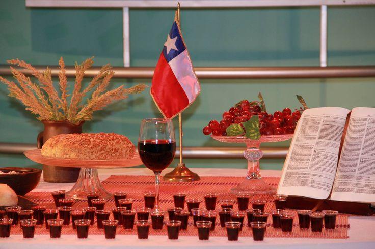Cena del Señor en Maratónica febrero 2015