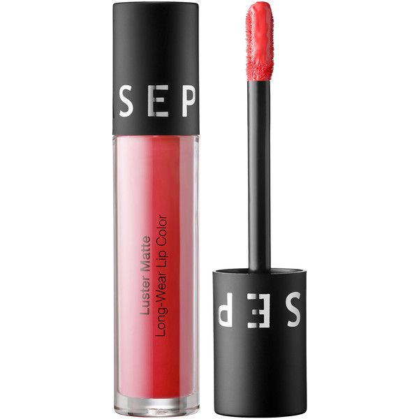 SEPHORA COLLECTION VIB Rouge Luster Matte Long-Wear Lip Color ($16) ❤ liked on Polyvore featuring beauty products, makeup, lip makeup, lipstick, beauty, sephora collection, long wear lipstick, long wearing lipstick and sephora collection lipstick