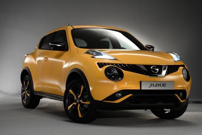 New Nissan Juke 2014 Yellow Color