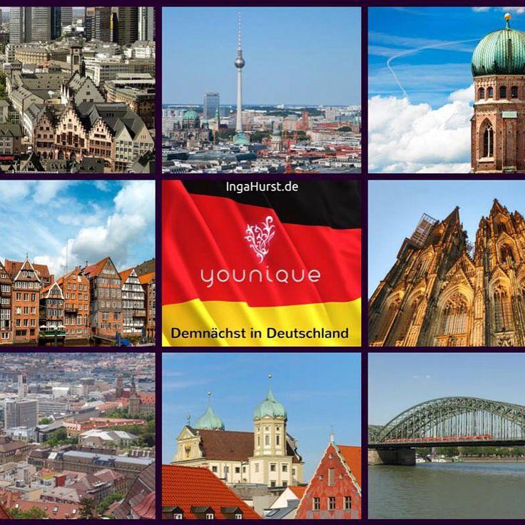 Younique - Demnächst in Deutschland - www.IngaHurst.de    #frankfurt  #berlin  #mannheim  #hamburg  #stuttgart  #München  #Köln  #Essen  #Dortmund  #Düsseldorf  #Bremen  #mainz