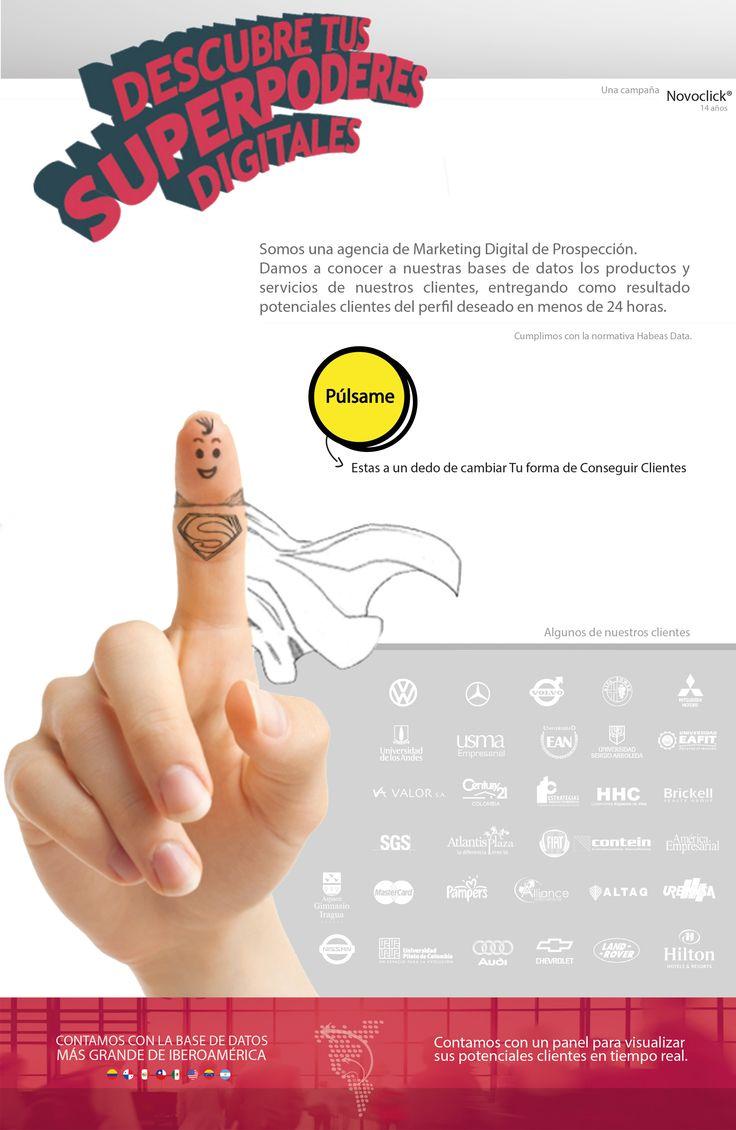 #NOVOCLICK #Conseguimos clientes para tu empresas