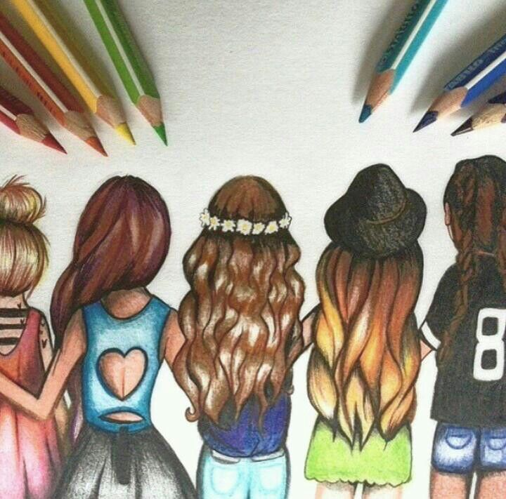 This is nice. Cuz it makes me think that everyone is different, but we're all the same as well. ☺