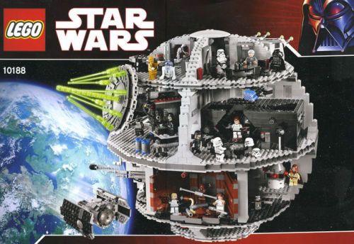 LEGO 10188 Star Wars Death Star Retired Sealed  original...