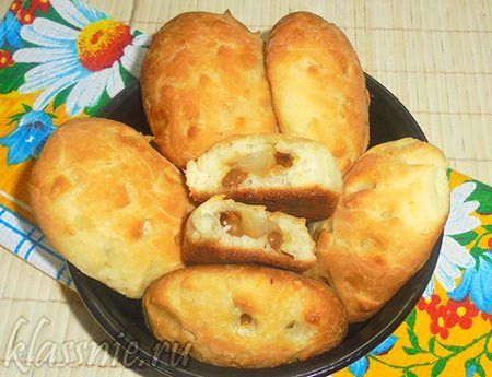Пирожки с грушей дрожжевые | Классные вегетарианские рецепты