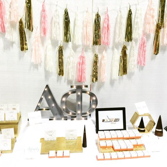Long-lasting, battery operated LED lights illuminate a vintage inspired, marquee style Greek letter that can be hung or placed on a table to personalize your room, dorm, or chapter house. Combine this marquee letter light with other Greek letters to make the perfect decor for brag