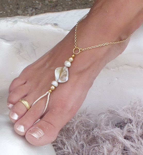 Barefoot Sandals Wedding Jewelry Photos on WeddingWire